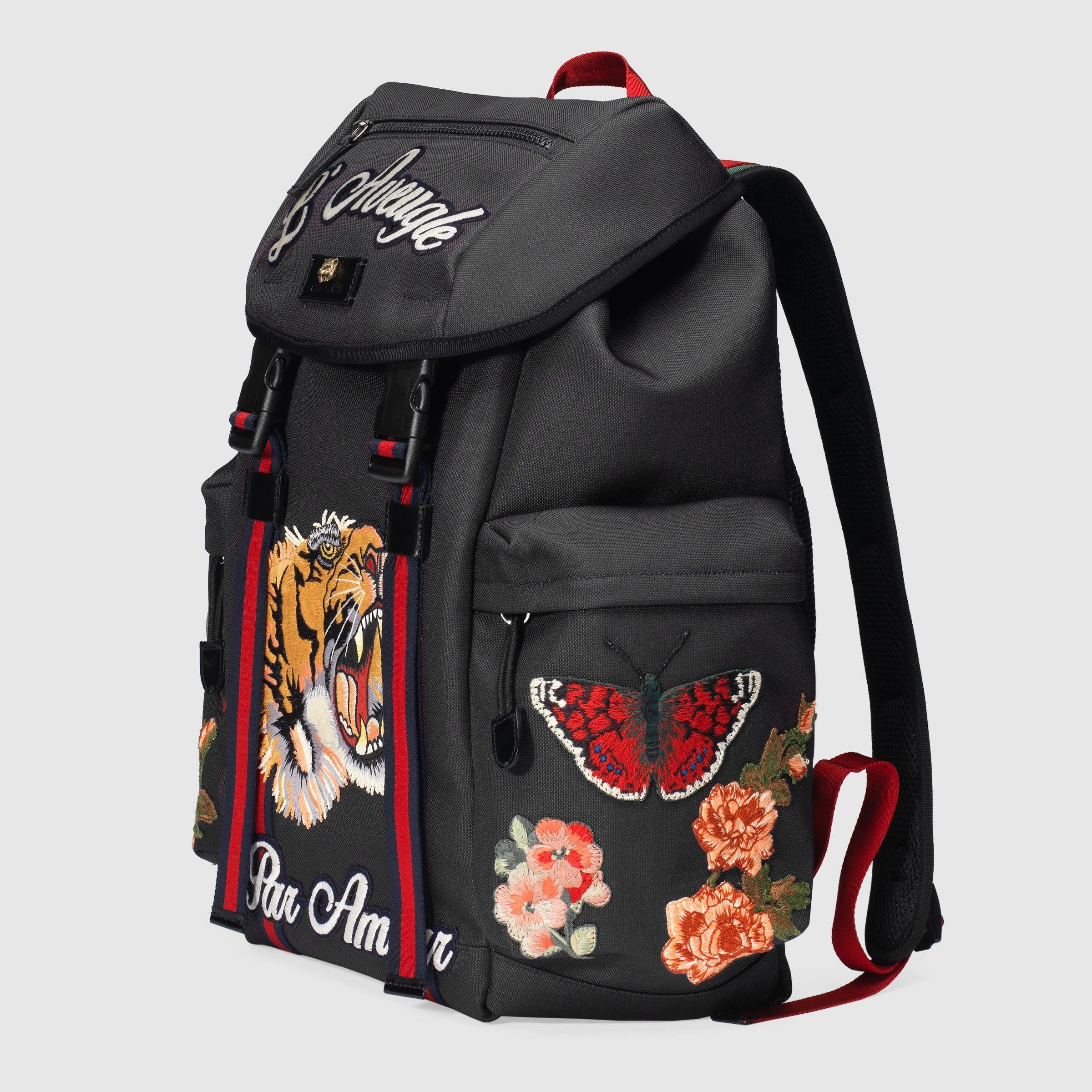 Presenting The Wild Gucci Tiger Techpack With Embroidery