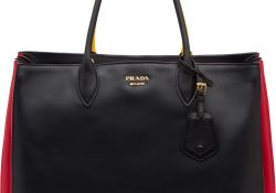 Prada Tri Color Bibliotheque Bag Replica Online Ping